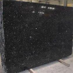 Galaxy Black Granite Slab, For Flooring, Thickness: 18-20 mm
