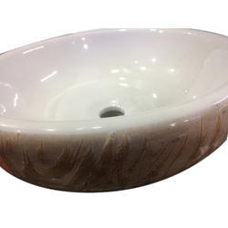 White Ceramic Countertop Basins