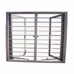 Rectangular Stainless Steel Window Frame