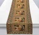 Dinning Thanksgiving Gold Brocade Table Runner