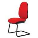 Visitor Office Red Chair