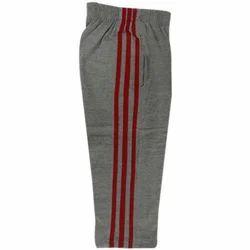 Grey And Red Plain School Uniform Lower