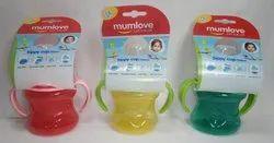 Mumlove Plastic Kids Sippy Cup 200 ml, 1-2 Years