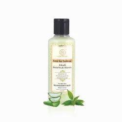 Khadi Green Tea Aloe Vera Conditioner 210 mL, Type Of Packaging: Bottle