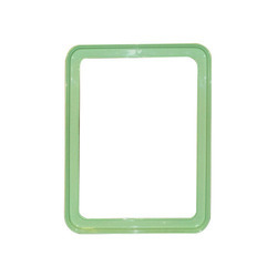 Green Bathroom Mirror Frame