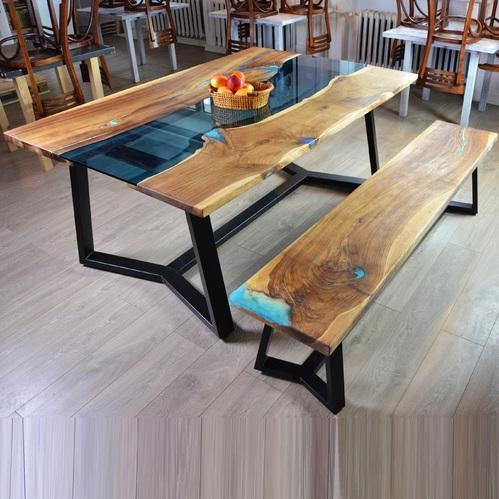 Epoxy And Resin Table Set Manufacturer From