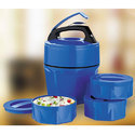 3 Pcs. Plastic Container Lunch Box With Spoon