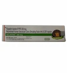 300 Mcg Neukine Filgrastim Injection IP PFS