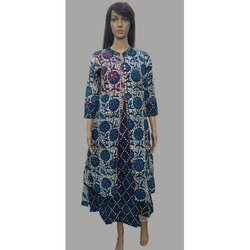 Double Layer Cotton Kurti
