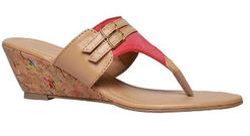 Bata Red Ladies Slippers