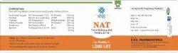 KNB Nat Thyrocare Tablets, Grade Standard: Food Grade, Packaging Type: Bottle