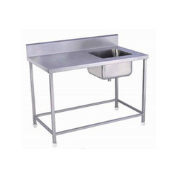 SS Single Sink With Table