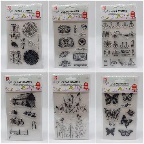 Skizzen Clear Stamps 14 x 18 cm