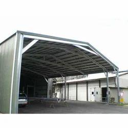 Mild Steel Industrial Sheds