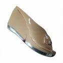 Womens Brown Pu Heel Sandal