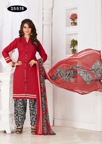 e0566a2fa3 Salwar Suit - Casual Printed Salwar Suit Manufacturer from Surat