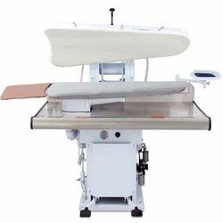 Stainless Steel Cotton Legger Press Laundry Equipment, For Industrial, Front Loading