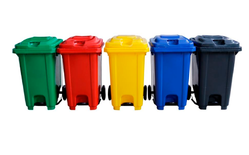 Colored Garbage Bin