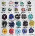 Vintage Art Matt Milliori Murano Glass Beads