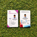Multicolor Rectangular Staff Member Id Card, In Pan India, Size: Regular