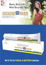 Beclomethasone Dipropionate 0.025% w/w Neomycin 0.5% w/w  Miconazole Nitrate 2.0% w/w Chlorocres