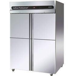 Celforst Stainless Steel 4 Door Vertical Freezer, Voltage: 220 V
