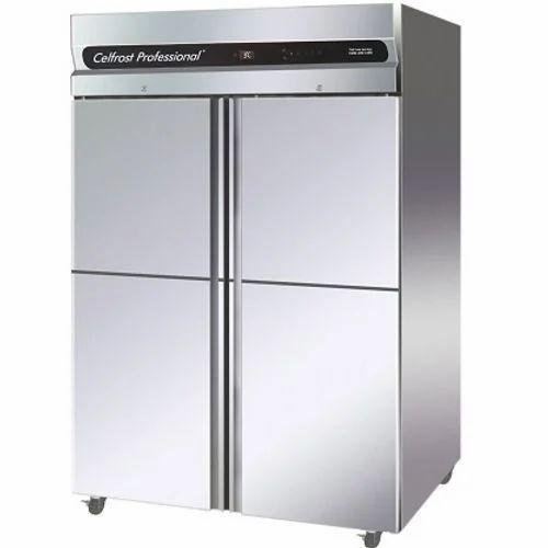 4 Door SS Vertical Freezer