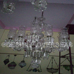 Clear Cut Chandelier