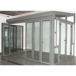 Aluminium Fabricated Door