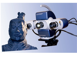 Blue Light 3D Scanner