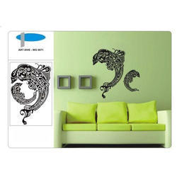 Art Dive Wall Decal