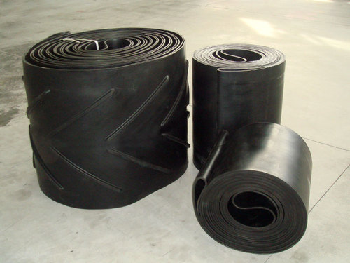 8 Inch Wide PVC 120 Cover One Side Black Conveyor Belt Material 10 Foot Length