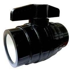 Black Solid Ball Valve Short Handle