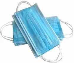 disposable surgical face mask blue - 100 pieces