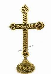 Metal Golden Plated Cross