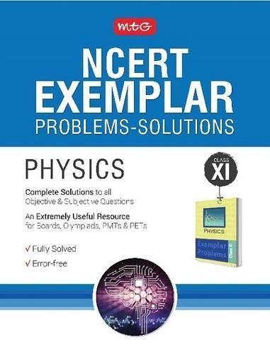 Ncert Exemplar Problems Solutions Physics Class 11