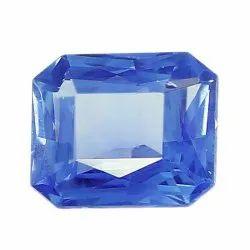 Octagon Cut Natural Ceylon Blue Sapphire