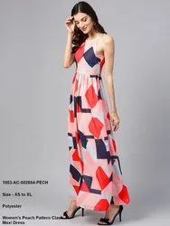 Pattern Clash Maxi Dress
