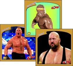 Goalzy WWE Trading Card