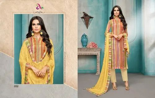 b5a56e4f15 Formal Wear Angroop Plus Diana Vol 3 Maslin Fabric Suits, Rs 675 ...