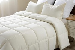 Cotton Check Hotel Bed Comforter
