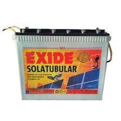 Tubular Exide 6LMS75 75 Ah Solar Battery