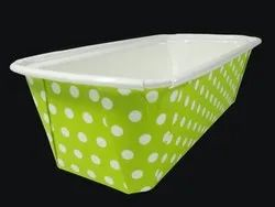 Green Polka Bakeable