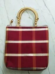 PU Leather Party Wear Ladies Handbag