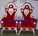 Metal Maharaja Chair