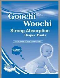 Goochi Woochi Cotton Diaper Pants, Age Group: 3-12 Months