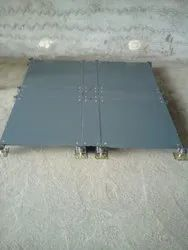 Steel Commercial Building Access Floor System - Bare Finish, For Office Flooring, Anti-Skidding