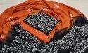Bagru Hand Block Printed Cotton Dress Material