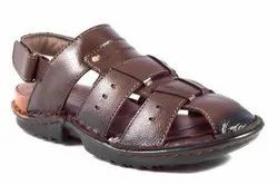 Brown Artificial Leather I SHOES(80) 2000 SANDAL, Size: 6, 7, 8, 9, 10