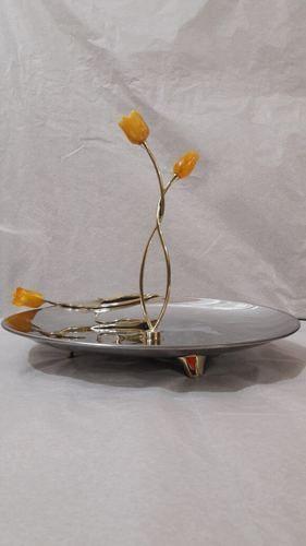Tulip Bud Single Decker Platter
